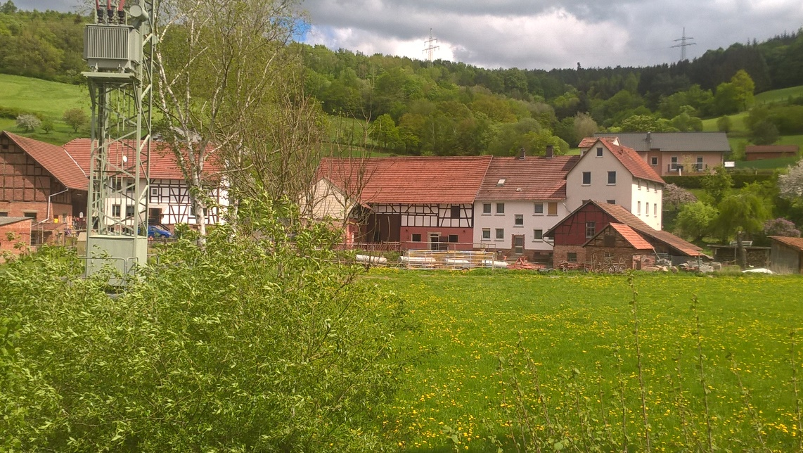 Mühle in Malkomes am 30. April 2018